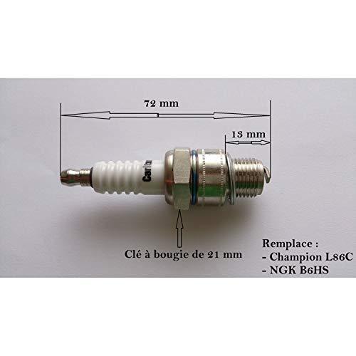 Ingrosso per candela, motore 2 tempi, sostituisce NGK B6HS L86C Champio