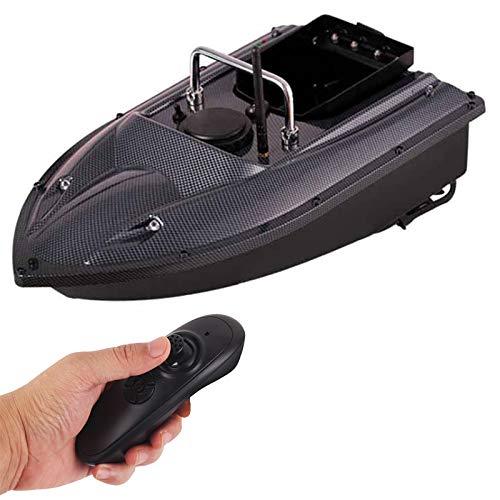 DYJD RC Pesca Bait Boat 500M Ruta de corrección automática Barco de Nido Multifuncional, sostenga 1.5 kg de señuelo para Necesidades para Hombres pescando,Carbon Fiber
