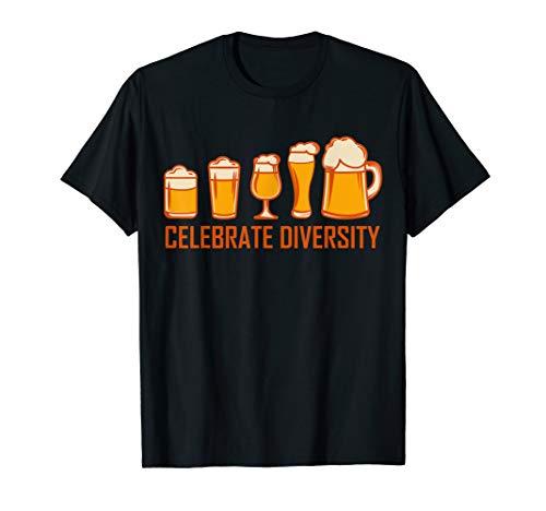 Bier TShirt Herren Lustig BIERGLAS Biertrinker Geschenk T-Shirt
