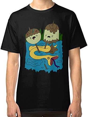 Princess Bubblegum Rock Adventure Time Men\'s Black Tees Shirt Clothing