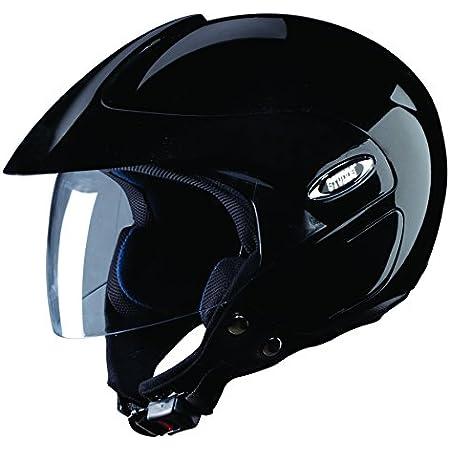 Studds Marshall Open Face Helmet- Black (L)