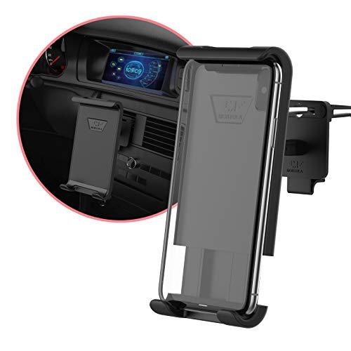 M MONTOLA Soporte de móvil Universal de Montula Compatible con Cualquier Smartphone. Manejo con una Sola Mano.
