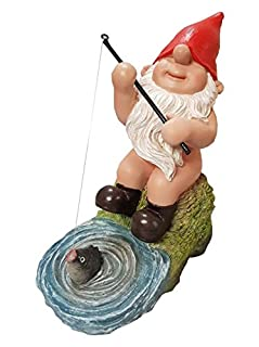 Fishing Gnomes - Vivid Arts BG PN72 F Resistant Ornaments