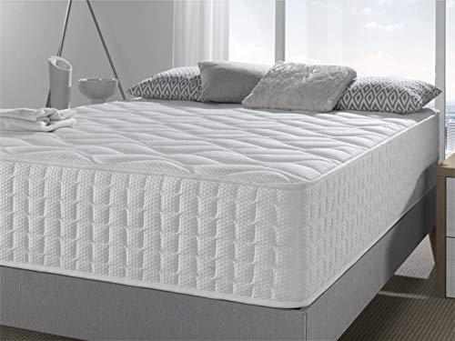Bellavista Home Matratze Capri HÖHE 30 cm 135x190x30 cm. Memory Forme Gel Fresh sorgt für eine ständige Belüftung und Einer Temperatur- und Feuchtigkeitsregulierung, HÄRTEGRAD H2-H3.