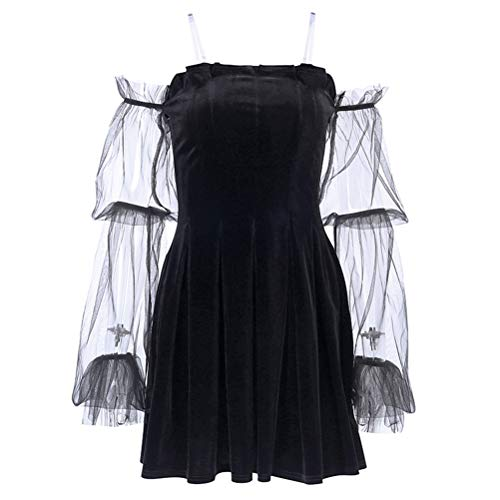 Wedding Dress Off the Shoulder Goth