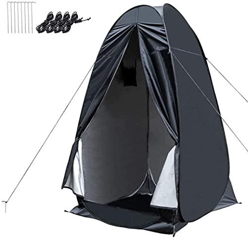 Wolfwill Portable Pop-up Camping Doccia Privacy Tenda Dressing Changing Room Shelter for Beach Camp WC all'aperto con borsa da trasporto