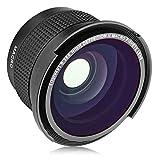 Opteka 58MM 0.35x Fisheye Wide Angle Lens...