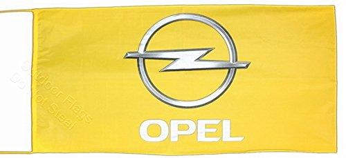 Opel Flagge Banner 2,5x 5ft 150x 75cm
