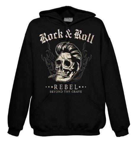Rock Style Rock & Roll Rebel - Beyond The Grave 701481 Hood 001 2XL
