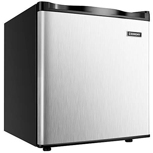 Euhomy Countertop Mini Freezer 1.1 Cu Ft Energy Star Compact Upright Freezer
