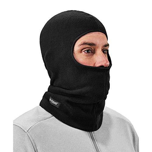 Balaclava, Winter Face Mask, Thermal Black Fleece, Ergodyne N-Ferno 6821