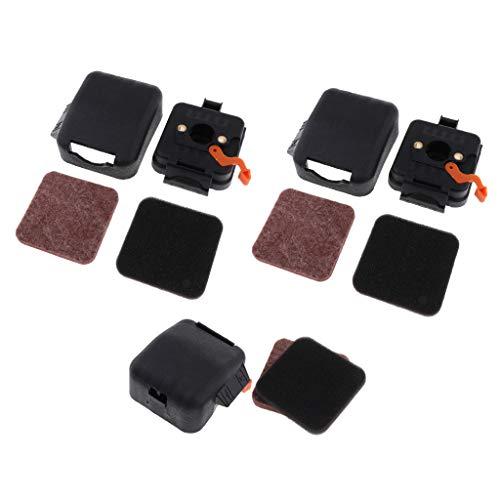 MERIGLARE 3 Juegos de Limpiador de Filtro de Aire Del Mercado de Accesorios para Motosierra HS80 FS85