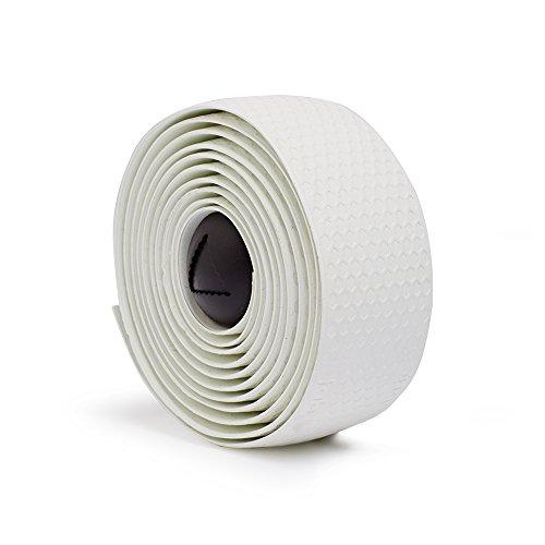 Fabric en silicone de Course Ruban pour guidon Blanc