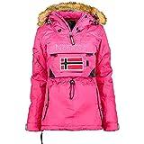 Geographical Norway BULLE LADY - Parka Caldo Impermeabile Da Donna - Cappotto Spesso Con C...