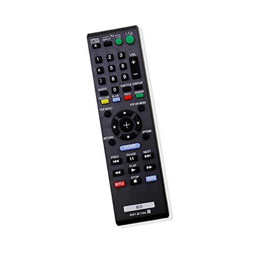 Vinabty Nuovo ricambio telecomando TV RMT-B119A Compatibile con Sony Blu-ray BD DVD Player bdpbx18 BDP-S590,BDP-BX110,BDP-bx510,BDP-S5100,BDP-bx310,BDP-bx59,BDP-S1100,BDP-S3100,BDP-S390, BDP-S580