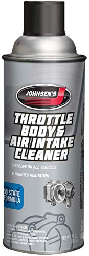 Johnsen's 4720-12PK Throttle Body and Air Intake Cleaner - 10 oz., (Pack of 12)