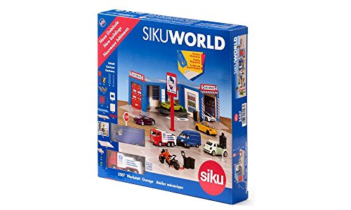 Siku 5609, Horse Farm with Accessories, Metal/Plastic, Colourful, Multifunctional, Can be Combined with siku Models of The Same Scale