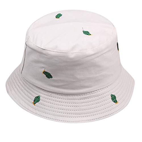 SKays Unisex Fischerhüte Atmungsaktiv Sonnenhut Outdoor UV Schutz Strandhut Cactus Süßigkeiten Farbdruck Anglerhut Freizeithut für Wandern Camping Strand,Beige