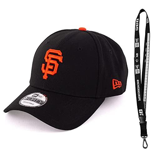 New Era Cap Schlüsselband - 940 Cap - 9FORTY Cap - Baseball Cap - Sommercap - Limitierte Designs - Viele Varianten (MLB San Francisco Black)