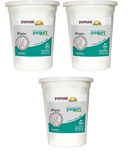 Yomast Organic Yogurt Plain 32oz (Pack of 3)