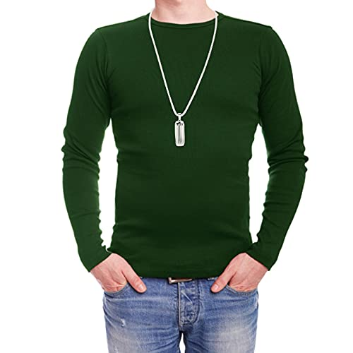 Jacksing Metal Necklace, Fashion Metal Neck Chain with Cushion Cotton for Many Festivals Birthday, Holiday Dances for Friend Lover, Girlfriend, Wife(Silver)