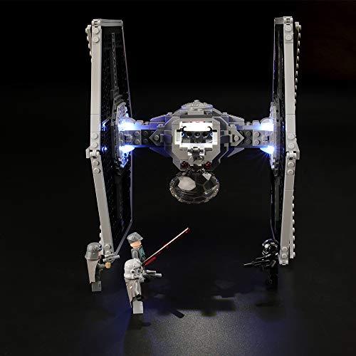 LIGHTAILING Set di Luci per (Star Wars Imperial Tie Fighter) Modello da Costruire - Kit Luce LED Compatibile con Lego 75211 (Non Incluso nel Modello)