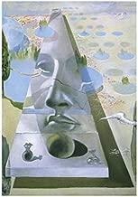 Posters: Salvador Dali Poster Art Print - Apparition Du Visage De L Aphrodite De Cnide (12 x 9 inches)