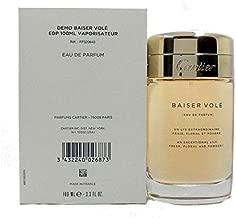 Baiser Vole by Cartier for Women Eau De Parfum Spray, 3.4 Oz (Tester/Plain Box)