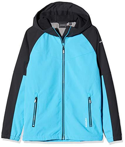 Icepeak Jungen KINROSS Softshell Jacke, blau, 164