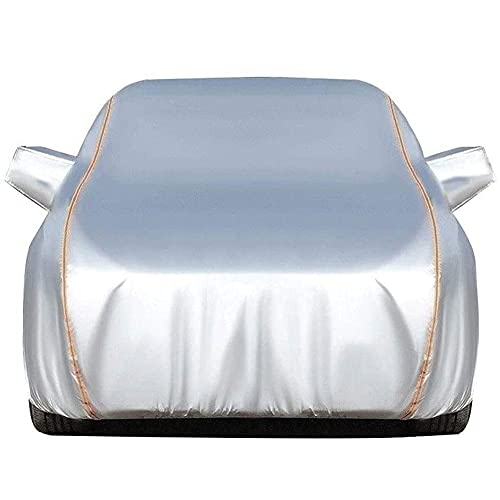Funda Coche Exterior Funda coche compatible con Dacia Sandero Stepway/Sandero 2 Stepway/Sandero 3 Stepway Garaje exterior para coche Anti-UV Transpirable Resistente al Polvo Lluvia Rasguño Nieve Sol