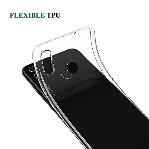 BENNALD Hülle für Honor 8X Hülle, Clear Soft Flex Silikon Durchsichtige Schutzhülle Case Cover-Slim TPU Bumper Tasche Passgenau Handyhülle für Huawei Honor 8X (Transparent, Clear) - 2