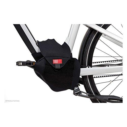 FAHRER Unisex– Erwachsene Antriebsschutz E-Bike Universal, Schwarz, One Size