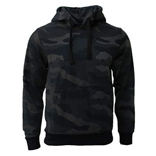 ROCK-IT Apparel® Sudadera con Capucha para Hombre Chaqueta con Capucha Jersey para Hombre suéter Tallas S-5XL Camuflaje Dark Camo S