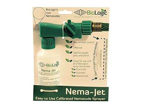 Scanmask Nematode Sprayer - Nema-Jet -Easy to Use- Use with Biologic Easy Spray Nematodes