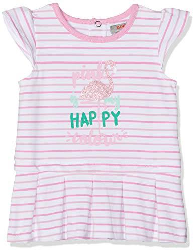 Kanz Baby-Mädchen m. Flügelarm Kleid, Mehrfarbig (Y/D Stripe|Multicolored 0001), 86