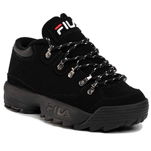 Fila Disruptor Hiker Low Woman, 1010749.12V, Black/Black, Scarpe Donna Lacci (40 EU)