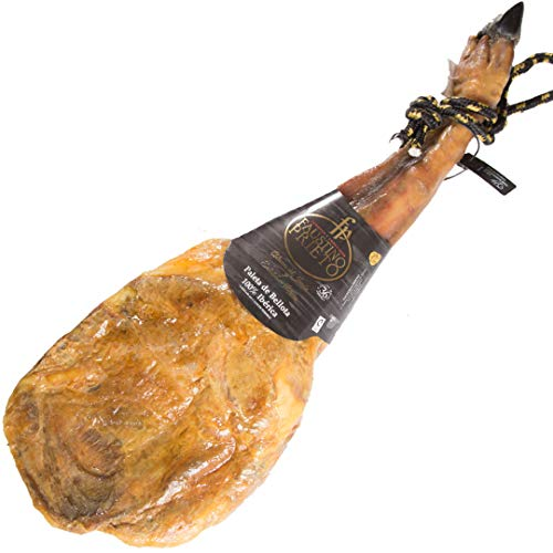 Jamón Ibérico Bellota 100% - PATA NEGRA (PALETA). 165,80€ ENTREGA 24-72 HORAS. SALAMANCA. Peso aprox 4,5-5 kg. FAUSTINO PRIETO. Paletilla.