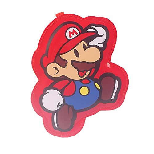Super Mario Monedero Super Mario Doll Bus Card Package Mario Louis Monedero Permiso de Trabajo Llavero Bolsa Colgante Etiqueta de Equipaje