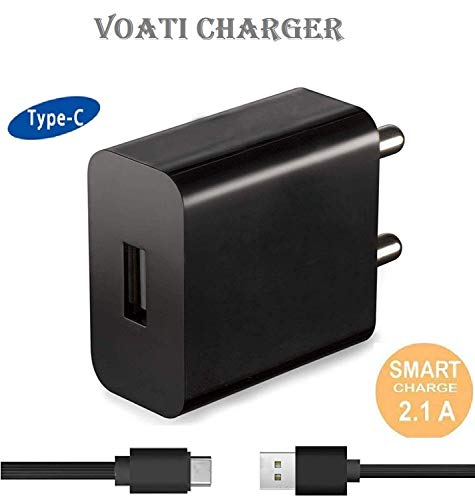 Himansi Traders Type-C Charger Adapter for Xiaomi Mi A1 (Black)