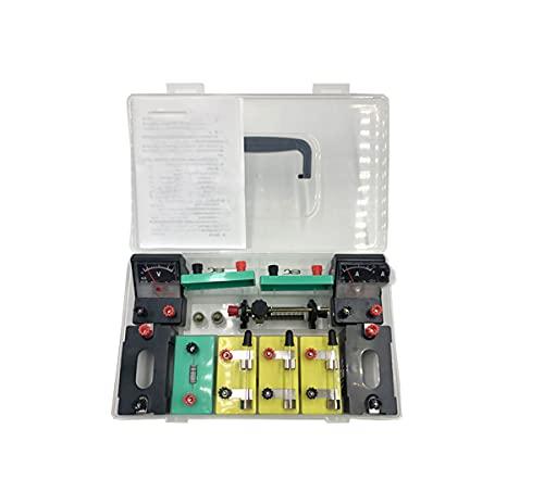 MTYQE Kit eléctrico Escolar, Laboratorio de Ciencias de física, Circuito básico, Kit...