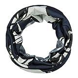 Codello Damen Loop Schal, Schlauchschal, Stirnband, Maske, aus 100% receltem Polyester, Nachhaltig, Umweltschutz, Blau, Einheitsgröße
