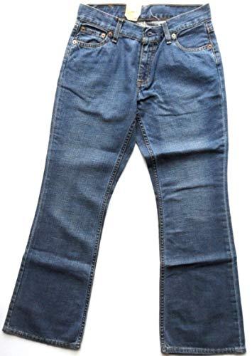 Levi's 529 Bootcut Jeans New Vintage Frau Mädchen Stone Wash Blau Gr. 26 W/32 L, blau