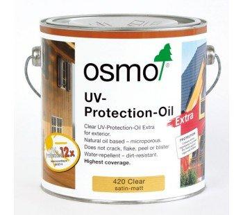 Osmo 420 UV-Schutzöl, extra seidenmatt/matt, 2,5 l