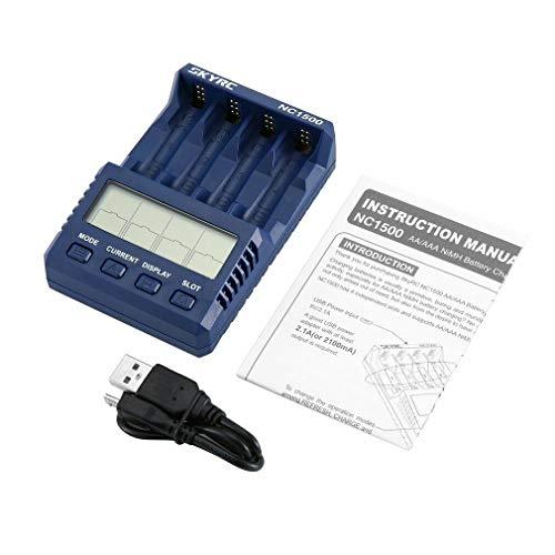 SKYRC NC1500 oplader voor 4xAA/AAA