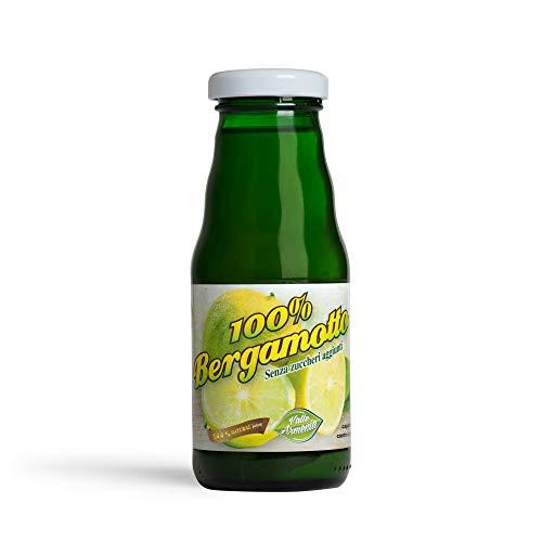 Succo di Bergamotto Puro al 100% 20 cl (12 Bottiglie)