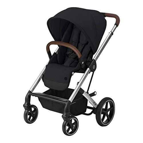 Balios S Lux Buggy – Deep Black – Gestell Silber – Cybex Gold