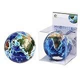 MUYAO Impresión de la Ciencia y la educación de Segundo Orden Color sólido UV Cubo de la Tierra - - Cubo de Rubik Juguete de descompresión Creativo 3D del Arco del Cubo (Color : UV Version)
