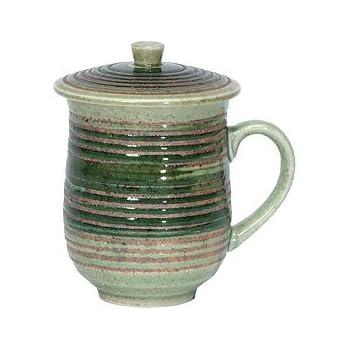 Blue and White Covered Mug SYNCHKG044038