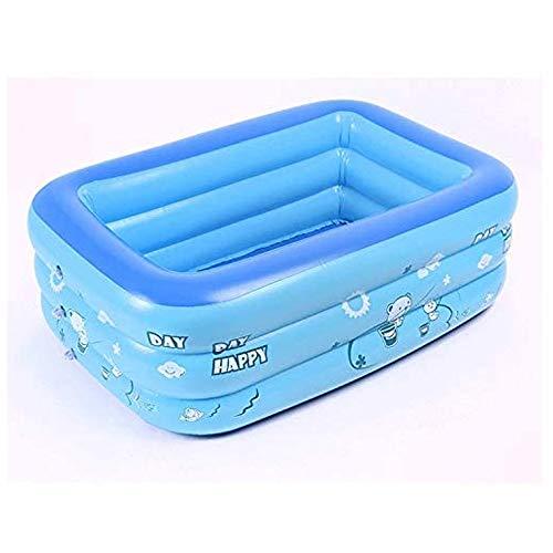 Bañeras De Piscina Inflable, Piscina Al Aire Libre, 120x75x37cm (6.6x4.9x1.7 Ft), Adecuado para Niños