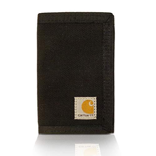 Carhartt Herren Extremes Trifold Wallet dreiteilige Geldbörse, schwarz, Einheitsgröße